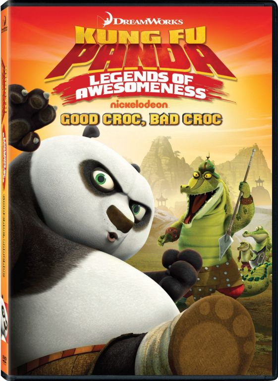 KUNG FU PANDA LEGENDS OF AWESOMENESS GOOD CROC BAD CROC